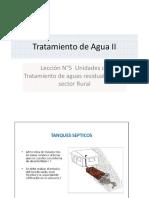 Leccion N° - 6 tratamiento de aguas residuales para el sector rural
