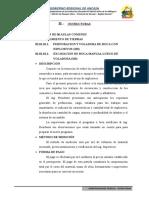 II. Especificaciones - Estructuras