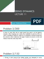 Engineering Dynamics Lec 11