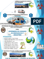 prevencion y atencion de desastre