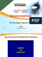 Semana 3.1 Metodo De Biseccion.pptx