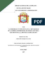 Seminario de Tesis II Fernando Choque Palacios