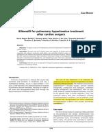 2005 Sildenafil for Pulmonary Hypertension Treatment