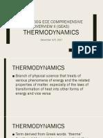 Lecture 4 Thermodynamics