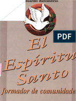 El Espiritu Santo Formador de Comunidades - Eduardo Basombrío
