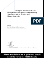 03 Cultural Heritage Conservation and Environmental Impact Assessment by Non Destructive Testing and Micro Analysis 2005