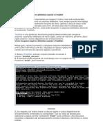 Como Recuperar Arquivos Deletados Usando o TestDisk