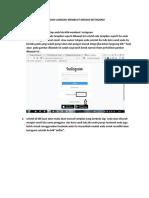 Tutorial Medsos Instagram PDF