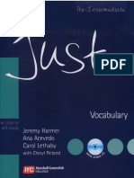 Just Vocabulary - Pre-Intermediate