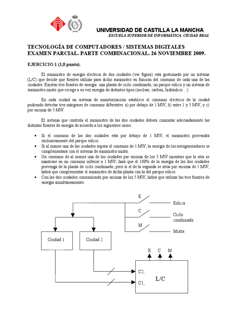 Circuito Hidraulico Mixto : Parcial 1