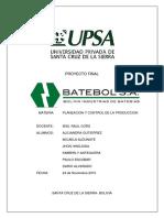 Proyecto Final Planeacion y Control de La Produccion 2222222