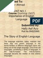 Presentation - Grammar 5658