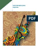 Pedro Lucas - Taller de Musicoterapia Para Personas Mayores (15 Sesiones)