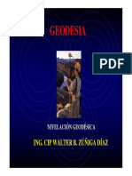 Sesión 6 Nivelación Geodésica