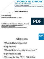 Data Integrity Issues and Concerns
