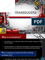 Transducer Report Powerpoint sample