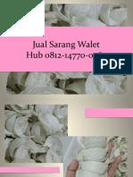 WA +62 812 1477 0264 Jual Sarang Burung Walet Jakarta