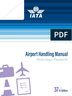 IATA Airport Handling Manual Contents