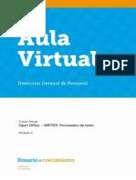 MANEJO DE OPEN OFFICE WRITER - Módulo 2 - Parte 1.pdf
