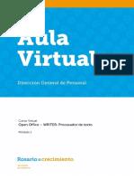 WRITER-Procesador de Texto - Módulo I - Parte 2