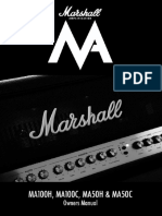 MA Marshall