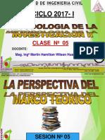 Clase 05 2017 i El Marco Teorico