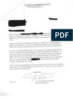DTIC No Wikileaks Records Response Letter