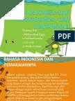 Bahasa Indonesia Dan Pemakaiannya , Dan Kontaminasi