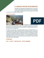 Camino Inca a Machu Picchu 4d-1