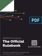 Aerodominator Rulebook 2017