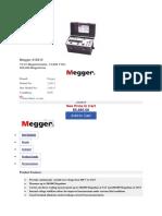 Megger 210415