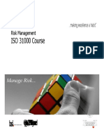Aubsi-risk Management Iso 31000 Ppt AMITY JAIPUR BBA
