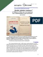 Ardealul Pamant Romanesc - Prezentare