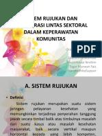 Sistem Rujukan Dan Kolaborasi Lintas Sektoral Dalam Keperawatan Ppt