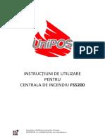 Manual Utilizare FS5200 RO