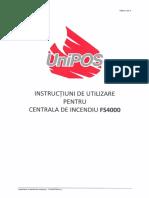 Instructiuni Utilizare FS4000_RO