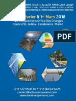 Dossier Solaire Expo Maroc 2018