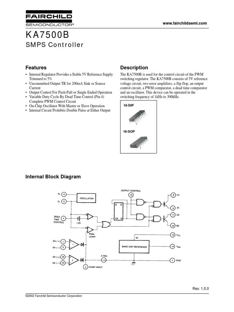Ka7500b Power Supply
