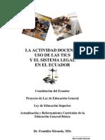 Tics y Leyes Ecuador