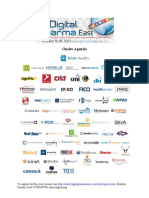Digital Pharma East Onsite Agenda