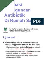 Evaluasi Penggunaan Antibiotik Dan Peran Farmasi