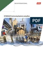 Dsi Dywidag Prestressing Systems Using Bars Emea