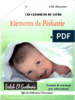 Elements de Pediatrie - QCM Et CCQCM