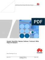 Huawei OceanStor Backup Software Technical White Paper for Simpana 1