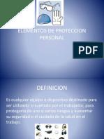 Elementos Proteccion Personal