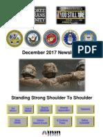 Cherokee Veteran Community Newsletter 2017 Year in Review