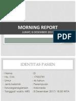 Tude-Morning Report 8 Des_OF Neck Phalanx Proximal Digiti V.pptx