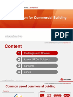 GPON Solution for Commercial Building