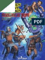 DCC RPG - Congelado No Tempo - Taverna Do Elfo e Do Arcanios