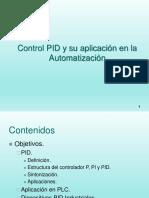 Control Pid y Su Aplicacion Automatizacion